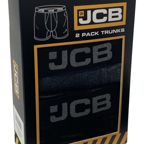 JCB 2PK Mens CORE Boxer Shorts - JCB Workwear