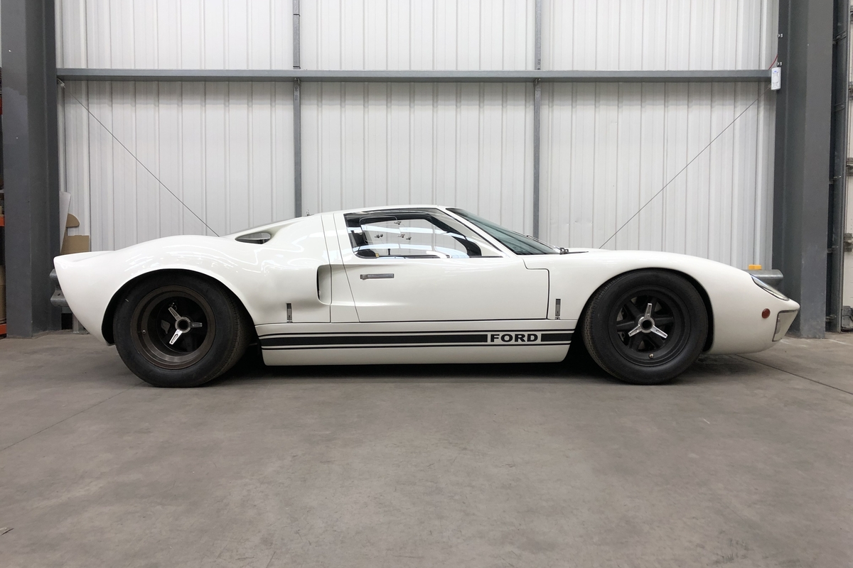 1968 Ford GT40 (being prepared for sale)