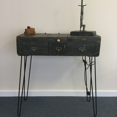 Upcycled Hall Console Table