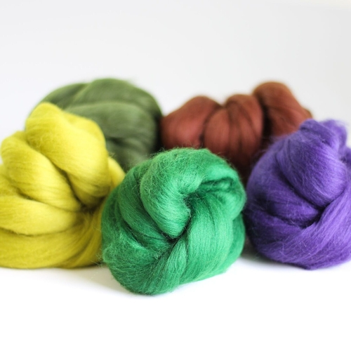 Wool Bundle for Needle Felting