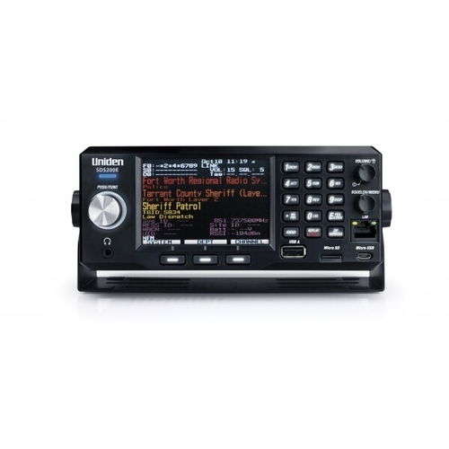 UNIDEN SDS200E DIGITAL BASE/MOBILE SCANNER