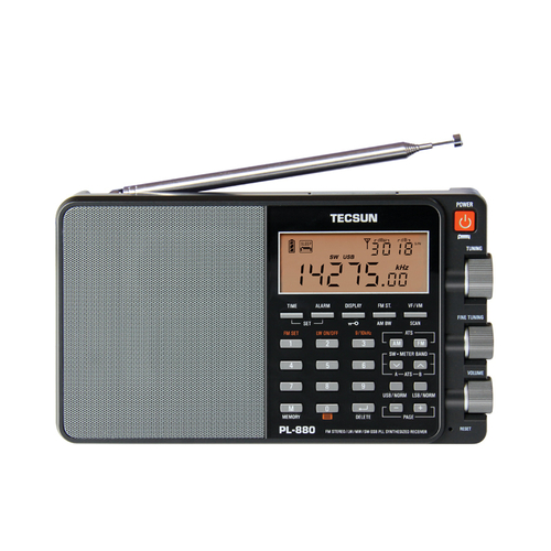 TECSUN PL-880 PORTABLE WORLD BAND RADIO