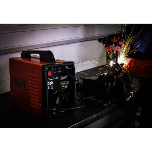 Arc Welder 140Amp with Accessory Kit - Sealey - 140XT