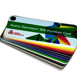Avery Dennison® 800 PC Swatch