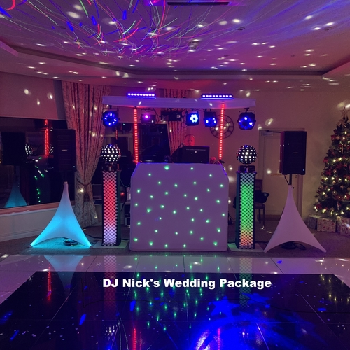 DJ Nick's WEDDING PACKAGE