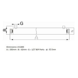 UV Sterilizer - 1400 Litres Per Hour
