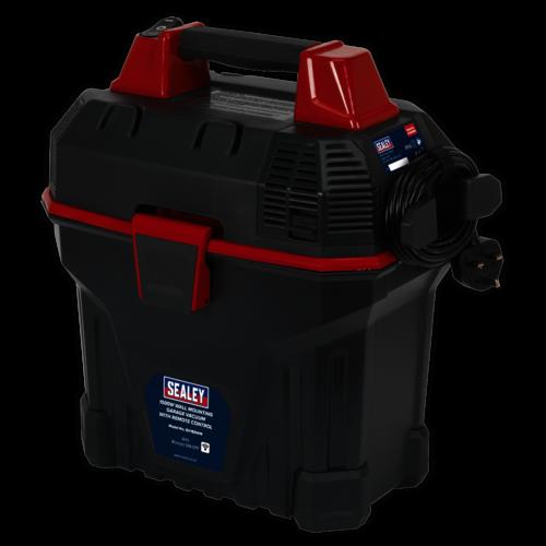 Garage Vacuum 1500W with Remote Control - Wall Mounting - Sealey - GV180WM