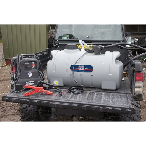 Portable Diesel Tank 100ltr 12V - Sealey - D100T