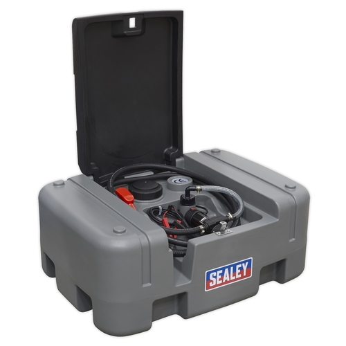 Portable Diesel Tank 200ltr 12V - Sealey - D200T