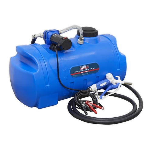 Portable AdBlue® Tank 100ltr 12V - Sealey - ADB100T