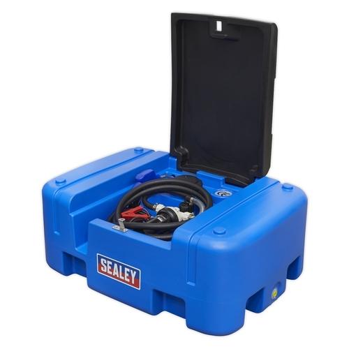Portable AdBlue® Tank 200ltr 12V - Sealey - ADB200T