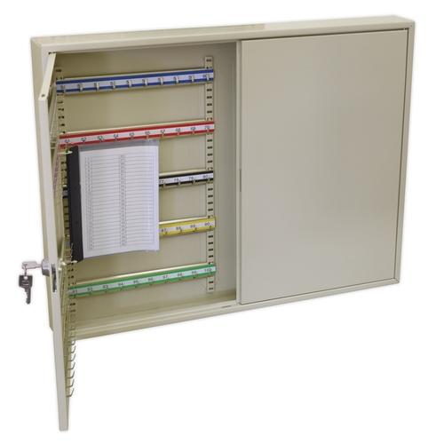 Key Cabinet 200 Key Capacity Wide - Sealey - SKC200W