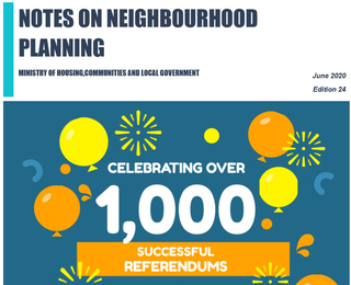 Celebrating Over 1000 Neighbourhood Plan Referendums