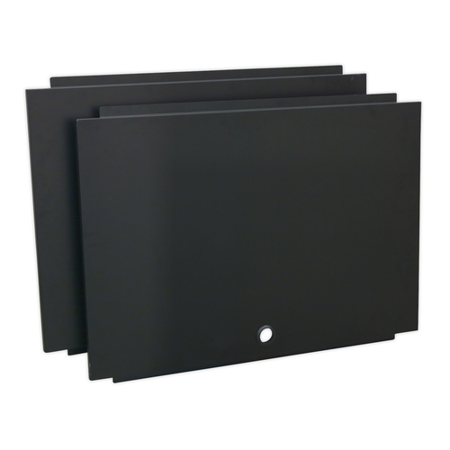 Back Panel Assembly for Modular Corner Wall Cabinet 930mm - Sealey - APMS17