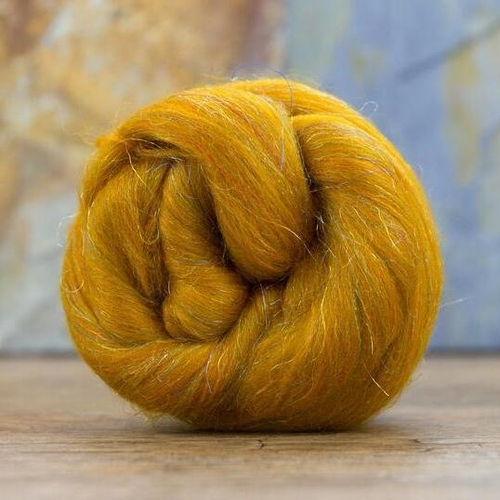 Glitzy Merino and Trilobal Nylon 100g