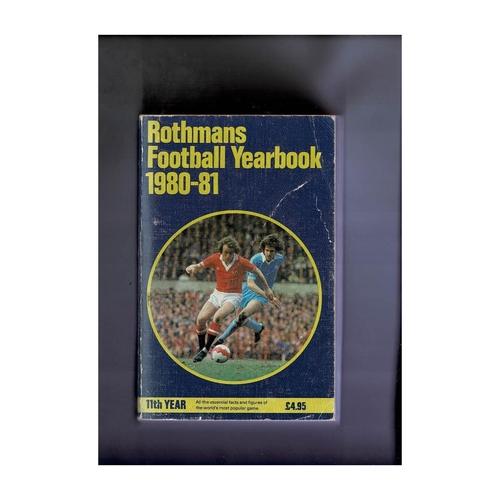 Rothmans Football Yearbook 1980/81 Softback