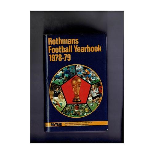 Rothmans Football Yearbook 1978/79 Hardback