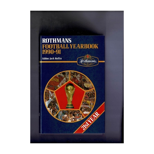 Rothmans Football Yearbook 1990/91 Hardback