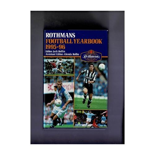 Rothmans Football Yearbook 1995/96 Hardback
