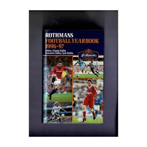 Rothmans Football Yearbook 1996/97 Hardback
