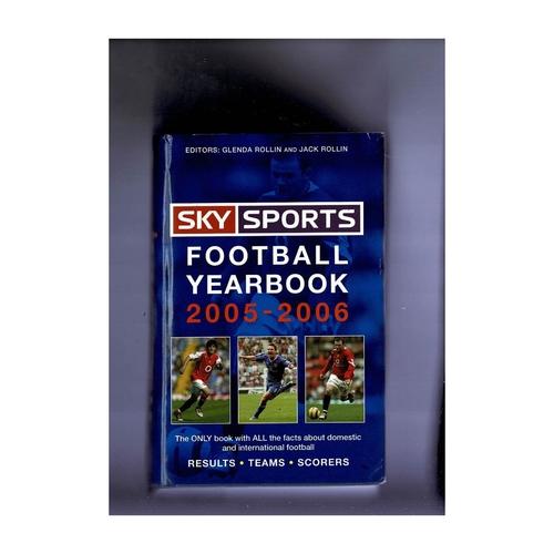 Sky Sports Rothmans Football Yearbook 2005/06 Hardback