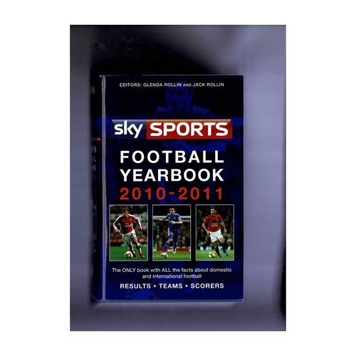 Sky Sports Rothmans Football Yearbook 2010/11 Hardback