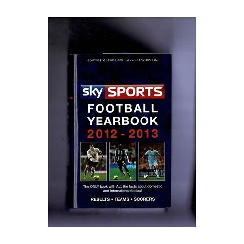 Sky Sports Rothmans Football Yearbook 2012/13 Hardback