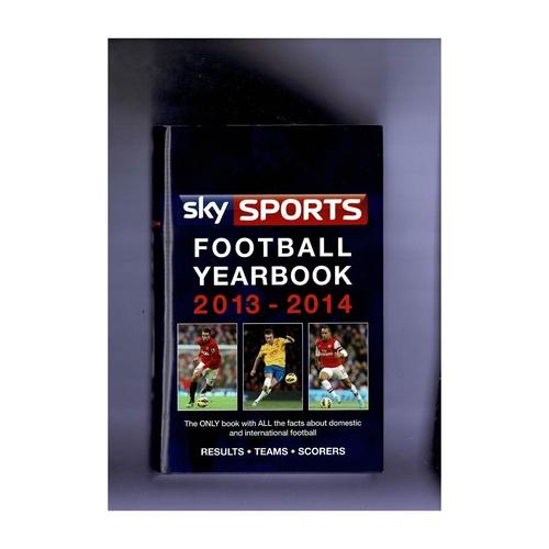 Sky Sports Rothmans Football Yearbook 2013/14 Hardback