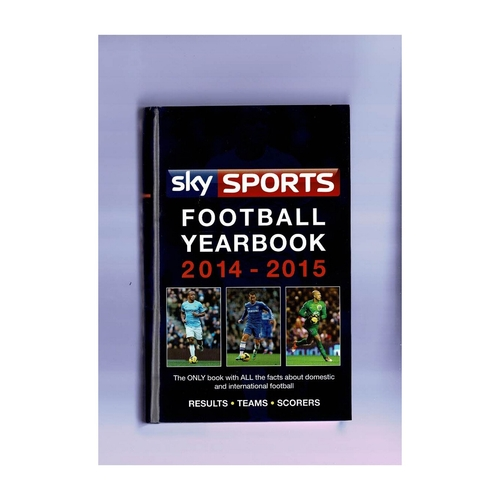 Sky Sports Rothmans Football Yearbook 2014/15 Hardback