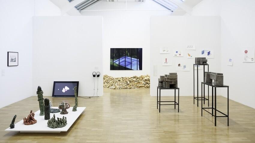 Whitechapel Gallery London Open.