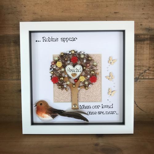 """Robins appear"" frame"