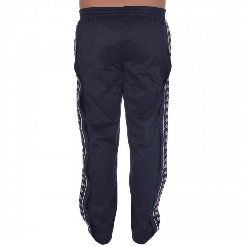 KAPPA 222 BANDA ASTORIA MENS POPPER PANT - Blue/Black