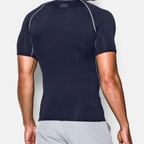 Under Armour Compression T-Shirt Mens Navy - S