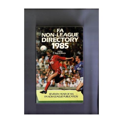 Non League Directory 1985 Softback Book