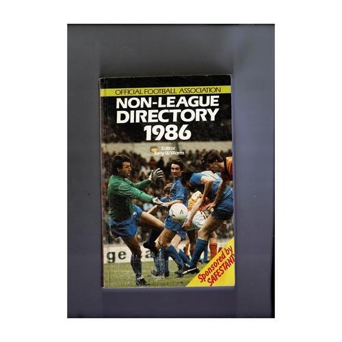 Non League Directory 1986 Softback Book