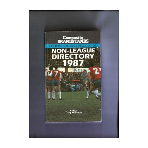 Non League Directory 1987 Softback Book