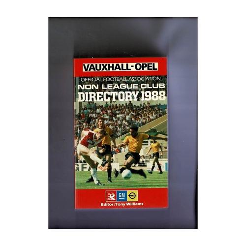 Non League Directory 1988 Softback Book