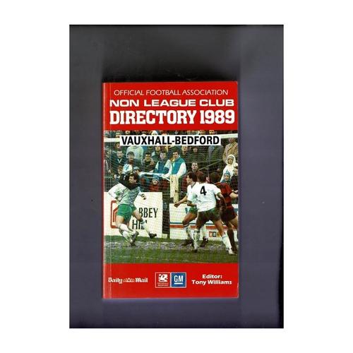 Non League Directory 1989 Softback Book