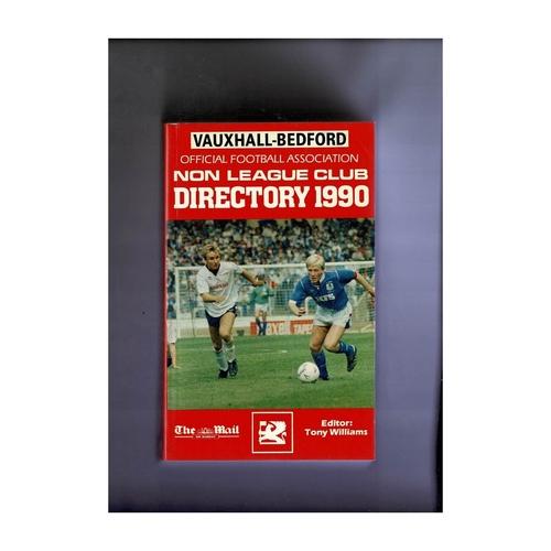 Non League Directory 1990 Softback Book