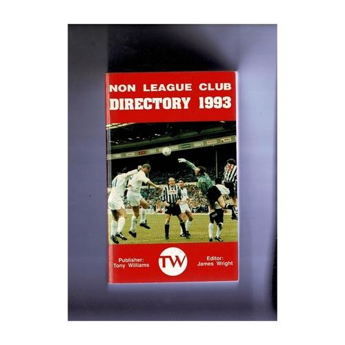Non League Directory 1993 Softback Book