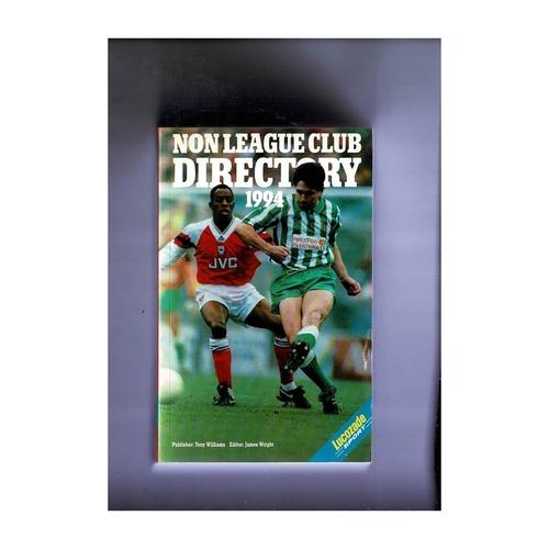 Non League Directory 1994 Softback Book