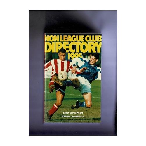 Non League Directory 1995 Softback Book