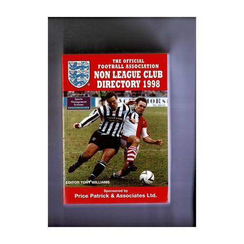 Non League Directory 1998 Softback Book