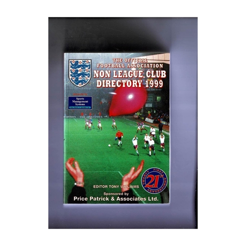 Non League Directory 1999 Softback Book