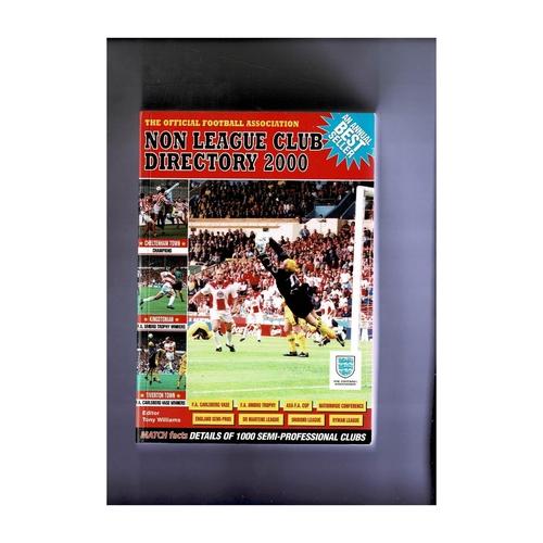 Non League Directory 2000 Softback Book