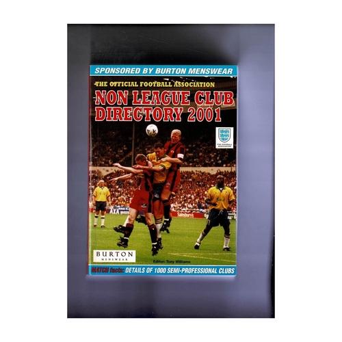 Non League Directory 2001 Softback Book