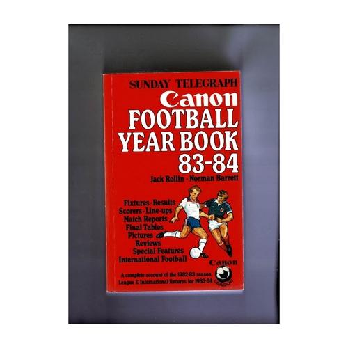 Sunday Telegraph Football Yearbook 1983/84 Softback