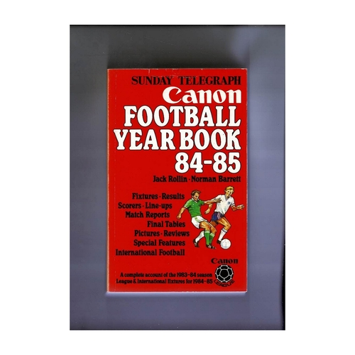 Sunday Telegraph Football Yearbook 1984/85 Softback