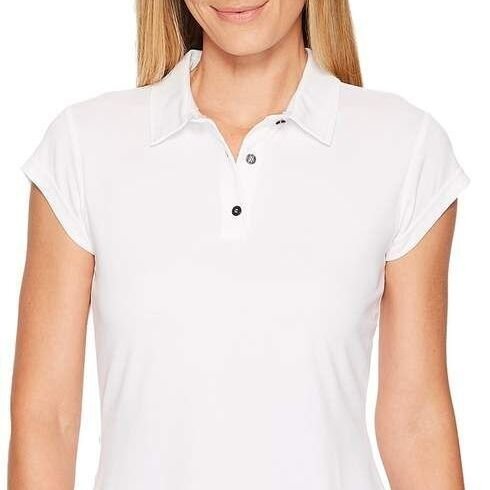 Women's ADIDAS 'Clima Chill' Polo T Shirt