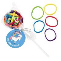 Magical Unicorn Hair Band Lollipop